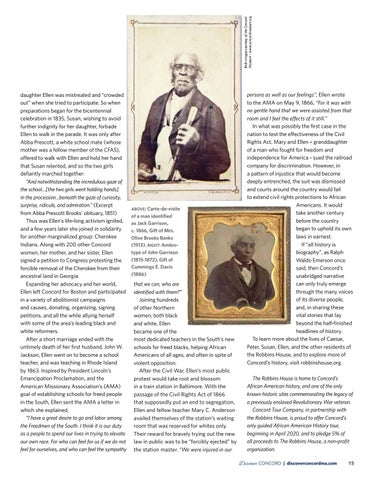 Page 17 of The Robbins House: Preserving the Legacy of African American History in Concord
