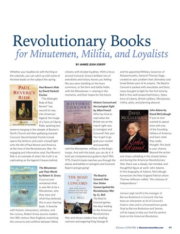 Page 51 of Revolutionary Books for Minutemen, Militia, and Loyalists
