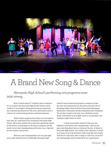 Page 33 of Hernando High's Performing Arts Center