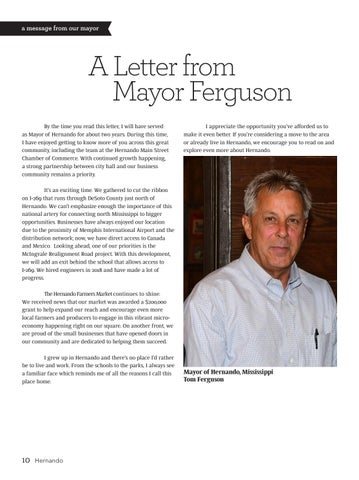 Page 8 of A Letter from Mayor Ferguson