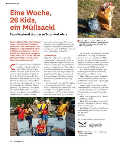 Page 20 of Zero Waste Aktion des Landeskaders