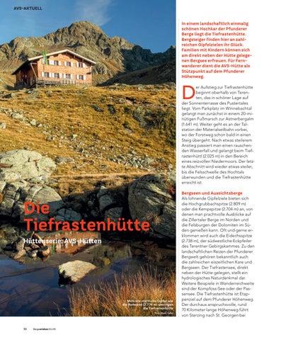 Page 32 of AVS Hüttenserie: Tiefrastenhütte