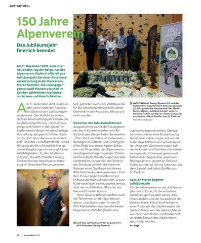 Page 42 of Jubiläumsjahr feierlich beendet