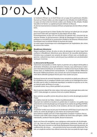 Page 23 of Le Sutanat d'Oman