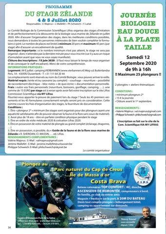Page 34 of Programme stage Zélande