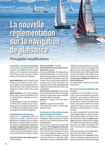 Page 42 of La nouvelle réglementation sur la