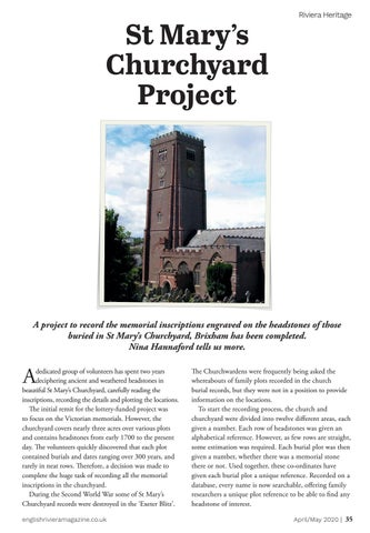 Page 35 of Churchyard Heritage Project