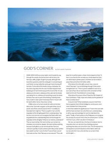Page 30 of God's Corner