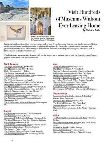 Page 12 of Visit Hundreds of Museums Without Ever Leaving Home