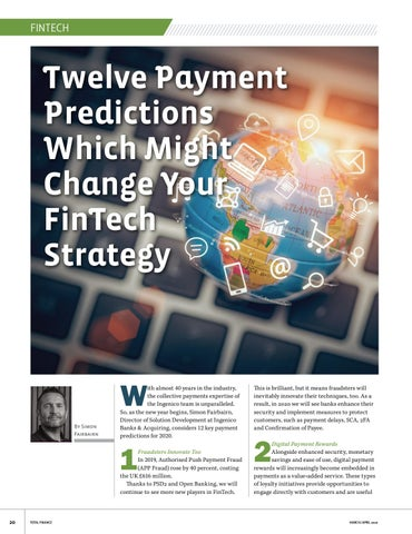 Page 20 of Twelve payment Predictions Which Might Change Your FinTech Strategy