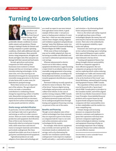 Page 26 of Turning to Low-Carbon Solutions