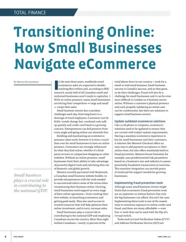 Page 6 of Transitioning Online: How Small Businesses Navigate eCommerce