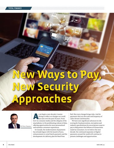 Page 8 of New Ways to Pay, New Security Approaches