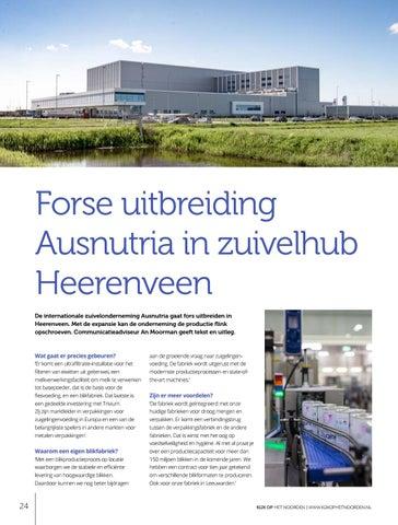 Page 24 of Forse uitbreiding Ausnutria in zuivelhub Heerenveen