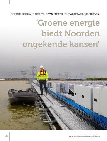 Page 36 of Groene energie biedt Noorden ongekende kansen