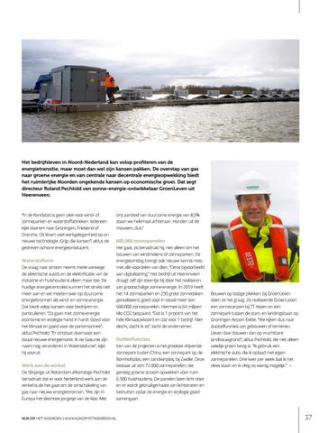 Page 37 of Groene energie biedt Noorden ongekende kansen
