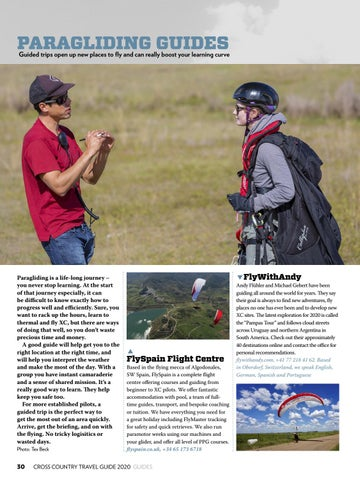 Page 30 of PARAGLIDING GUIDES