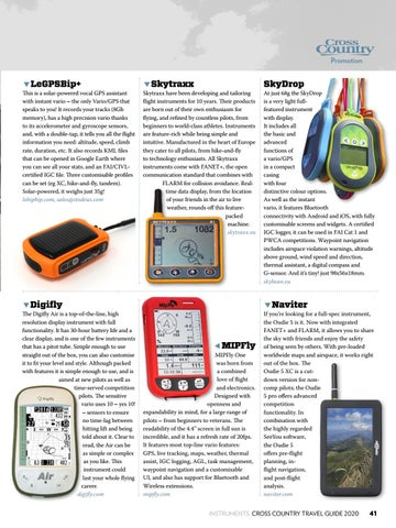 Page 41 of FREE-FLIGHT INSTRUMENTS