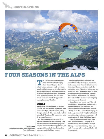 Page 44 of FOUR SEASONS IN THE ALPS