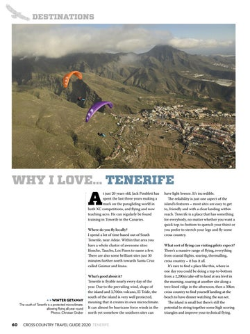 Page 60 of WHY I LOVE… TENERIFE