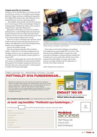 Page 29 of Första svenska transplantationen av livmoder från avliden donator