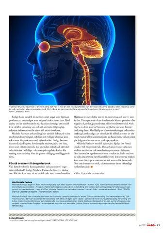 Page 37 of Hur är medvetandet kopplat till hjärnan?