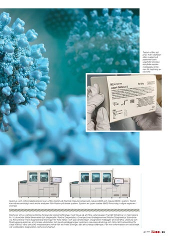 Page 53 of Nytt test för nya coronaviruset tillgängligt