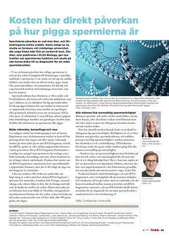 Page 55 of Kosten har direkt påverkan på hur pigga spermierna är