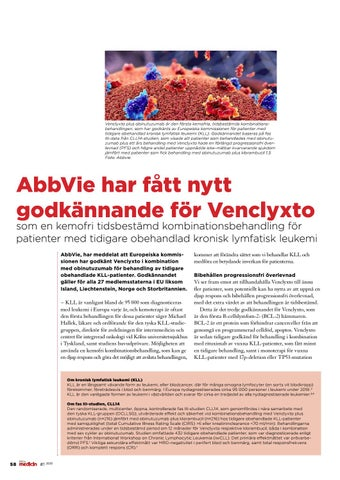 Page 58 of AbbVie har fått nytt godkännande för Venclyxto