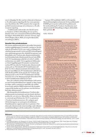 Page 59 of AbbVie har fått nytt godkännande för Venclyxto