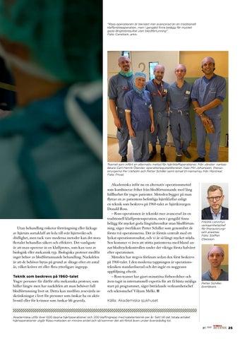 Page 25 of Alternativ operationsmetod gör att unga klaffopererade kan slippa blodförtunnande
