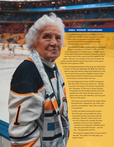 Page 26 of Buffalo's Superfans 22