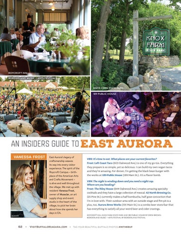 Page 64 of Insider's Guide to East Aurora