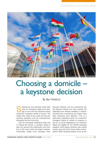 Page 15 of Choosing a domicile – a keystone decision
