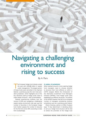 Page 4 of NAVIGATING A CHALLENGING ENVIRONMENT AND RISING TO SUCCESS