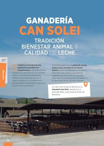 Page 72 of Ganadería Can Solei: tradición, bienestar animal y calidad de leche