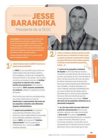 Page 83 of Entrevista a Jesse Barandika, presidente de la SEOC