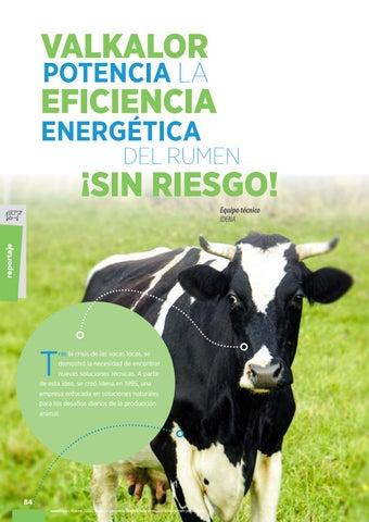 Page 86 of Valkalor potencia la eficiencia energética del rumen ¡sin riesgo