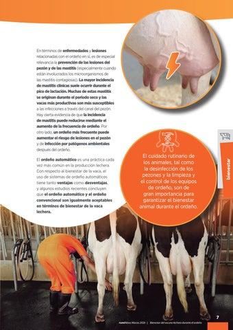 Page 9 of Bienestar del vacuno lechero durante el ordeño