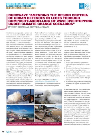 "Page 18 of DURCWAVE ""Amending the design criteria of urban defences in leczs through composite-modelling of wave overtopping under climate change scenarios"