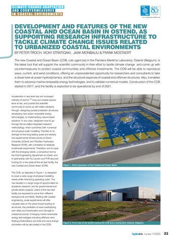 Page 23 of and ocean basin in ostend, as supporting research infrastructure to tackle climate change issues related to urbanized coastal environments