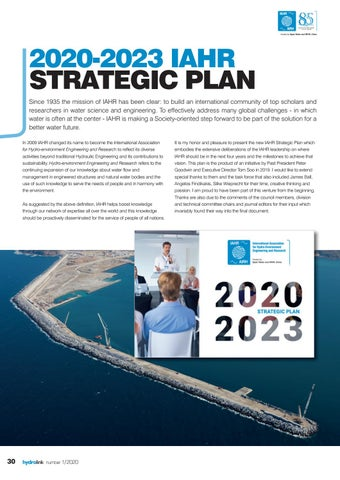Page 30 of 2020-2023 IAHR Strategic Plan