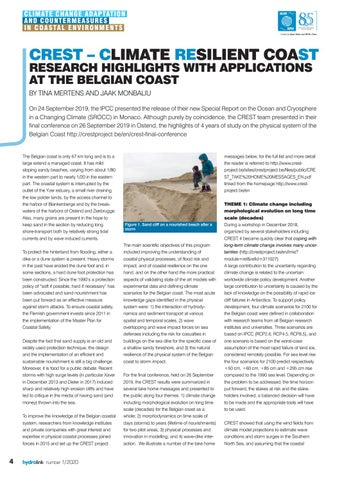 Page 4 of CREST – Climate REsilient coaST Research highlights with applications at the Belgian coast