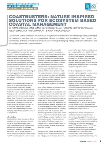 Page 7 of Coastbusters: Nature inspired solutions for ecosystem based coastal management
