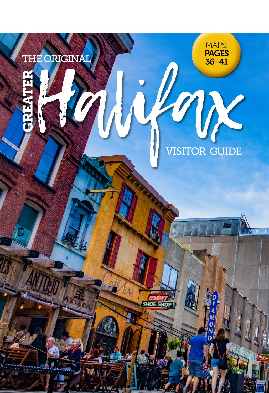 Greater Halifax Visitor Guide 2020 By Metro Guide Publishing Issuu