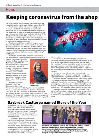 Page 6 of Keeping coronavirus from the shop door; Daybreak Castlerea named Store of the Year
