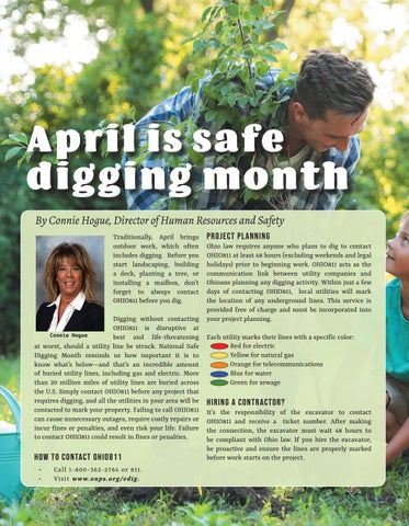 Page 4 of April is safe digging month