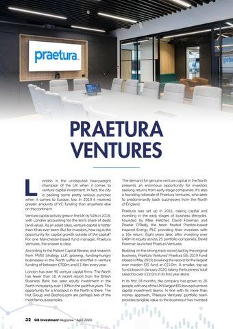 Page 32 of PRAETURA VENTURES