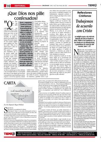 Page 10 of Solicitan a los organismos públicos que