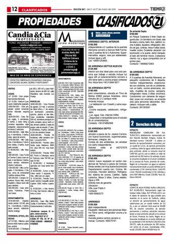 Page 12 of Solicitan a Indap y Bancos a aplazar